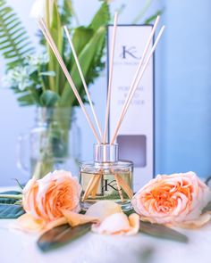 KITA Fragrances Perefumed Reed Diffusers available in a variety of upmarket fragrances.