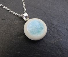 Hey, I found this really awesome Etsy listing at https://www.etsy.com/listing/238238474/porcelain-blue-glass-sterling-silver