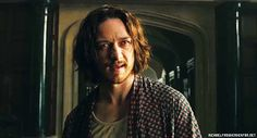 James Mcavoy in Xmen: DOFP Gag reel