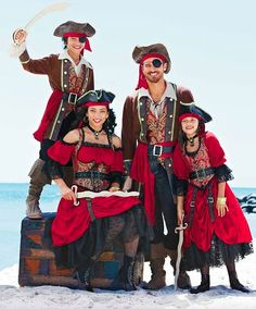 Swashbuckling Pirate Costumes for the Whole Family