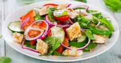 chicken Salad- KetoLabben – The experts on optimal ketosis - Veg Salad Recipes, Healthy Vegetable Recipes, Cheap Chicken Recipes, Chinese Chicken Recipes, Easy Salads, Healthy Salads, Salade Caprese, Spinach Soup, Grilled Chicken Salad
