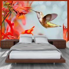 Photo Wallpaper - Hummingbird flight