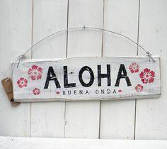 Letreros vintage | ALOHA