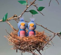 How to Make Wooden Peg Dolls - Peg People   Moon Child Blog - Bella Luna Toys