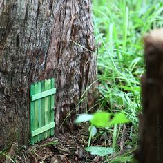 DIY Fairy Door such a cute craft for kids!