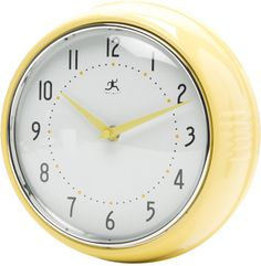 Wayfair Bailey Round Wall Clock