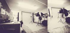 Old Southbourne Grove Studio, photo shoot set up in Studio.  http://studioshotz.co.uk/blog/