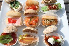 Model: mini belegde broodjes