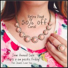 2 of the gorgeous sale items! Semi-Annual Sale now at www.chloeandisabel.com/boutqiue/lisab! #TheJewelsLoveYou