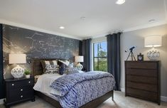 Wish upon a star with this astrological design! The perfect decor theme for any space lover or future astronaut! | Pulte Homes