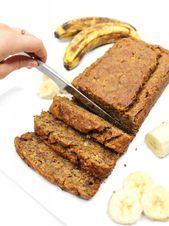El MEJOR pan de plátano vegano  Postres  #Banana #bread #Desserts #vegan Banana Bread French Toast, Vegan Banana Bread, Desserts, Food, Banana Dessert, Vegan Desserts, Oatmeal Banana Bread, Tailgate Desserts, Dessert