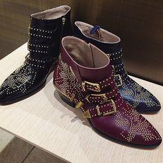 Chloe Susanna Boots in Burgundy! ❤❤❤