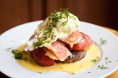 Alex Boake's Smoked Salmon Eggs Benedict | The Domestic Man