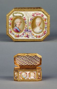 From the days of Marie Antoinette a royal 18th century traveling