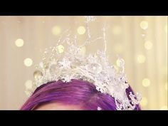 Ice Crown ♥ DIY - YouTube