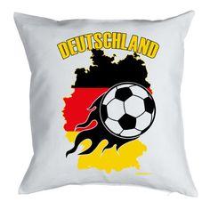 """Neue Fanartikel zur WM2014, wie """"Deutschland Fußball Fanartikel Kissenüberzug Geschenk Fussballfan, 40x40 cm in weiss : )"""" jetzt hier kaufen: http://fussball-fanartikel.einfach-kaufen.net/bettwaesche-decken/deutschland-fussball-fanartikel-kissenueberzug-geschenk-fussballfan-40x40-cm-in-weiss/"""