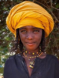 Africa    People.  Young Wodaabe photographed in Niger.