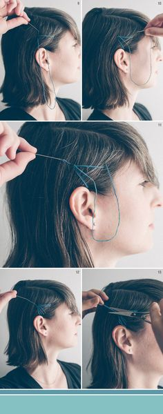 She Lets Her Hair Down: Tutorial :: Sew Your Hair