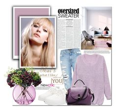 """""""Sweater Weather"""" by mycherryblossom ❤ liked on Polyvore featuring Genetic Denim and LSA International"""