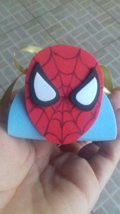 Porta bombom do Homem Aranha.. ❤ 😍
