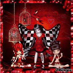 Joycie Red Gothic Dreams