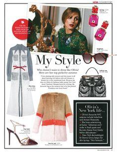 ARS1: Olivia Palermo for HELLO! FASHION Magazine October 2014