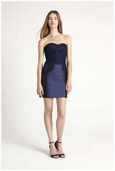 a28b426f3c3 Bridesmaid dress from the Monique Lhuillier Bridesmaids Spring 2016  Collection.