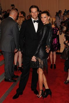 Pin for Later: 75 Moments Inoubliables du Met Gala Tom Brady et Gisele Bündchen — 2010