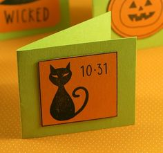 Mini Halloween Cards