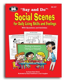 Take a look at this Say and Do Social Scenes for Daily Living Skills Book on zulily today!