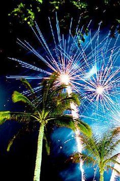 Fireworks in Hawaii