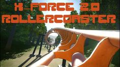 Planet Coaster: X-Force 2.0 RollerCoaster