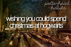 Christmas at Hogwarts - my dream