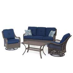 Found it at Wayfair - Merritt 4 Piece Deep Seating Group with Cushion