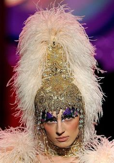 High-Headdress ~ Bob Mackie