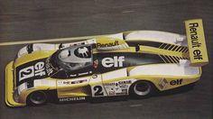 Didier Pironi Renault A442b vainqueur des 24h du Mans 1978 (avec Jean-Pierre Jaussaud)