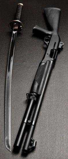 Image result for swords and guns