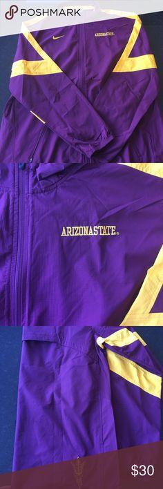 Nike ASU Sun Devil Storm Fit Full Zip Windbreaker! Like New! Nike Jackets & Coats Performance Jackets