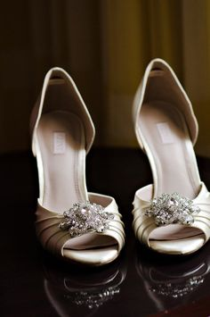 Peep toe pumps by Glint via Nordstrom / Photography by luckyheartphotography.com
