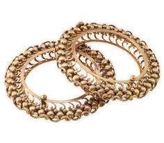 Gold Bangles Designs | Designer Gold Bangles | Hazoorilal by Sandeep Narang