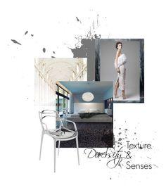 """Diversity: Texture & Senses"" by ispdesign ❤ liked on Polyvore featuring interior, interiors, interior design, home, home decor, interior decorating, Oxford, Modloft, Vita Copenhagen and Kartell"