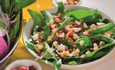 Detox Your Week With Jamie Oliver& Cranberry Salad Cranberry Salad, Cranberry Almond, Lemon Benefits, Health Benefits, Spring Salad, Diabetes Remedies, Healthy Dog Treats, Healthy Salad Recipes, Side Dishes