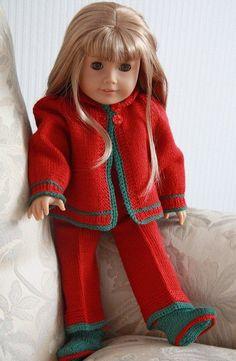 Fashion American Girl knitting patterns free
