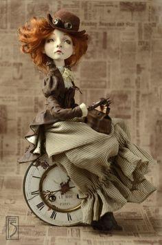 """Коллекционные куклы ручной работы. Авторская кукла """"время приключений"""". светлана фадеева. Ярмарка Мастеров. La doll premix"""
