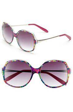 Outlook Eyewear 'Point' 57mm Sunglasses available at #Nordstrom
