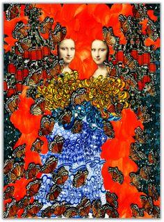 La Gioconda by Chiang Lup Hong Mona Lisa, High School Art, Famous Women, Art Education, Butterfly, Culture, Portrait, Artist, Painting