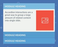 Accordion Interaction for Articulate Storyline 2 - E-learning Designer Info Board, Templates, Learning, Fresh, Create, Simple, Colors, Modern, Projects