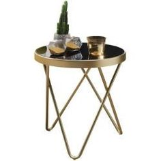 Products Side table Dana - gold-black - 46 cm high roller Mantle Clocks - Great Deals And Huge Selec Dining Table Chairs, Console Table, Stripped Wallpaper, Fairmont Park, Simple Wallpapers, Classic Furniture, Wooden Tables, Floor Lamp, Photos
