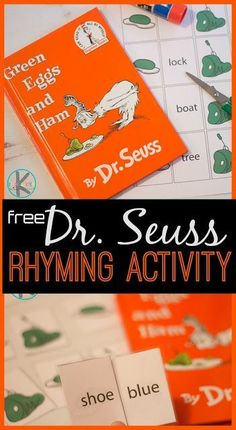 Rhyming with Green Eggs and Ham – Kindergarten Worksheets and Games