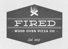 Fired Pizza Logo
